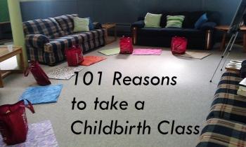 101 Reasons to take a Perinatal Education Series like Esali Birth